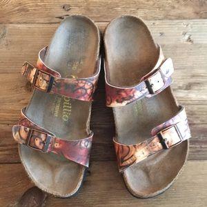 Birkenstock Papillio double buckle sandals